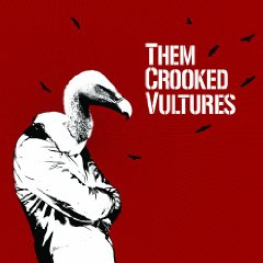 Them Crooked Vultures Album Cover