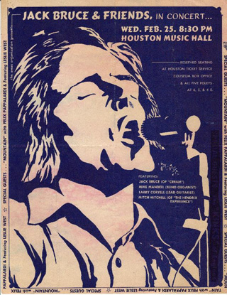 Jack Bruce & Friends poster 3 Small